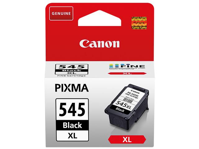 PG545XL CANON MG2450 INK BLACK HC 8286B001 No.545 15ml 400pages high cap. 1