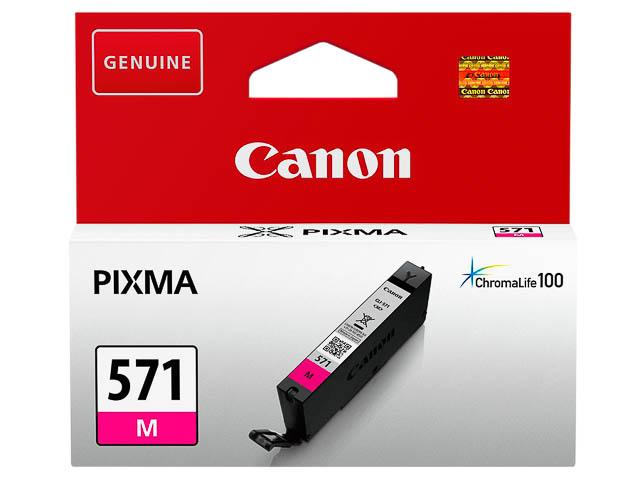 CLI571M CANON MG5750 INK MAGENTA ST 0387C001 No.571 7ml standard capacity 1