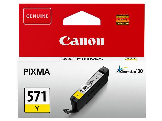 CLI571Y CANON MG5750 TINTE YELLOW ST 0388C001 Nr.571 7ml Standard Kapazitaet 1