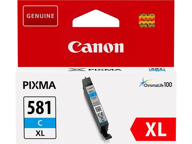 CLI581XLC CANON TS6150 INK CYAN HC 2049C001 No.581 8,3ml high capacity 1