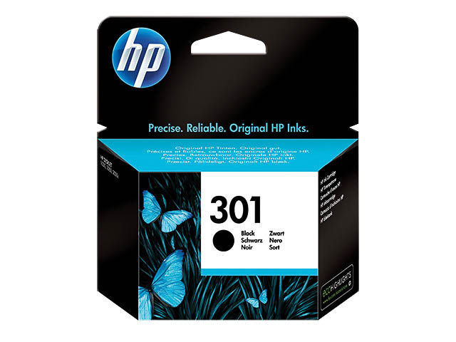 CH561EE HP DJ1050 INK BLACK ST HP301 3ml 190pages standard capacity 1