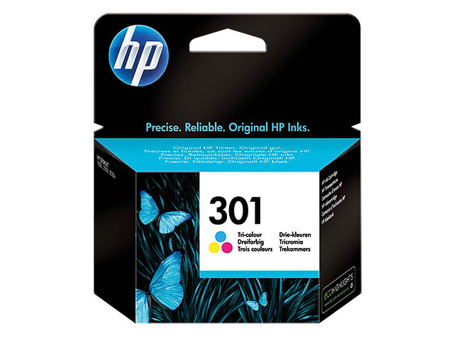 CH562EE HP DJ1050 INK COLOR ST HP301 3ml 165pages standard capacity 1