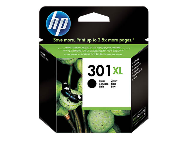 CH563EE HP DJ1050 INK BLACK HC HP301XL 8ml 480pages high capacity 1