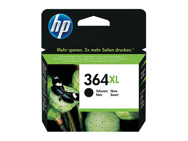 CN684EE HP PSCD5460 INK BLACK HC HP364XL 18ml 550pages high capacity 1