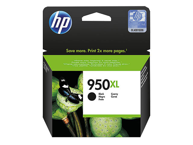 CN045AE HP OJ PRO8100 TINTE BLACK HC HP950XL 53ml 2300pages high capacity 1