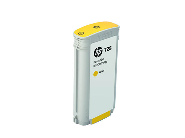 F9J65A HP DNJ T730 INK YELLOW HC HP728 130ml high capacity 1