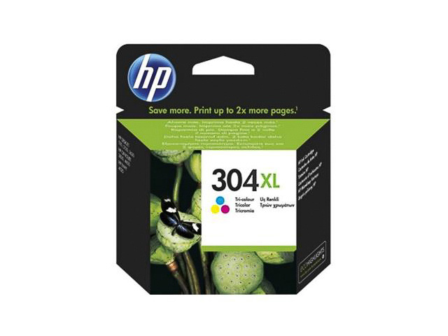 N9K07AE#UUS HP DJ3720 INK COLOR HC HP304XL 7ml 300pages high capacity 1