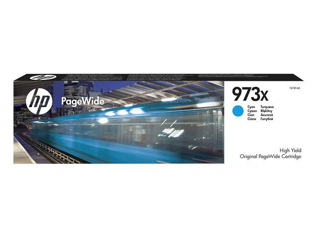 F6T81AE HP PW PRO452DW INK CYAN HC HP973X 7000pages high capacity 1