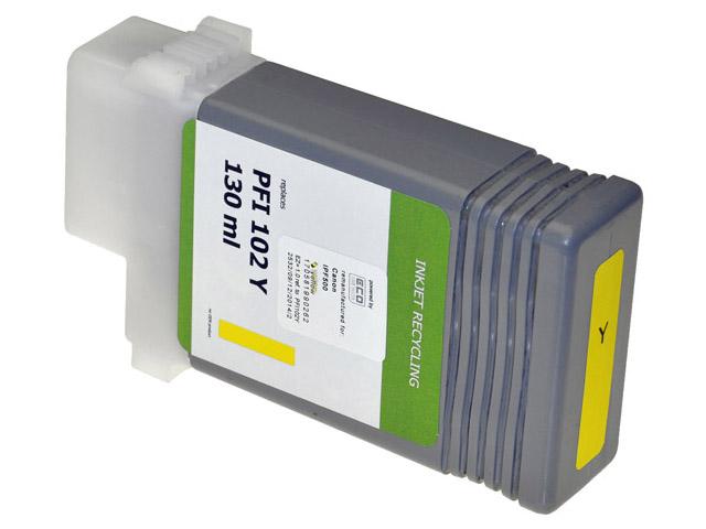 7081023 ItemP.CAN. IPF500 INK YEL 0898B001/PFI102 130ml 1