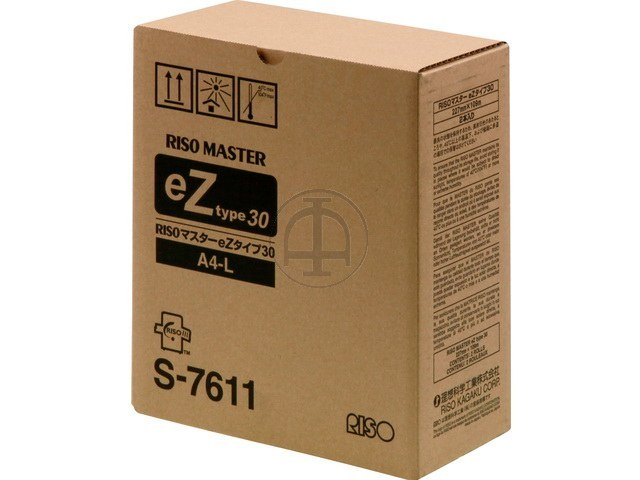 S7611 RISO EZ200E MASTER (2) A4 EZ-Typ30 1