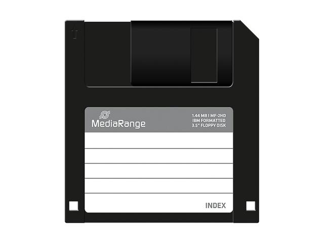 """MEDIARANGE 3.5"""" DISK MF2HD(10) MR200 1.44MB formatted 1"""