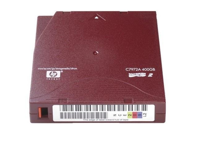 C7972AL HP DC ULTRIUM2 (20) LTO2 with label Dual 200-400GB 609m 1