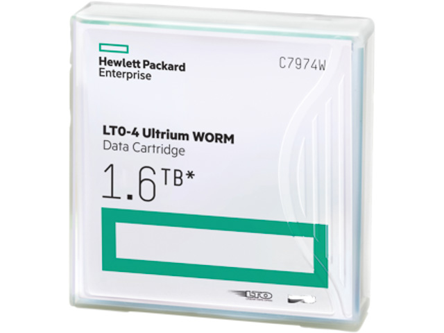 C7974W HP DC ULTRIUM4 WORM LTO4 without label 800-1600GB 820m 1