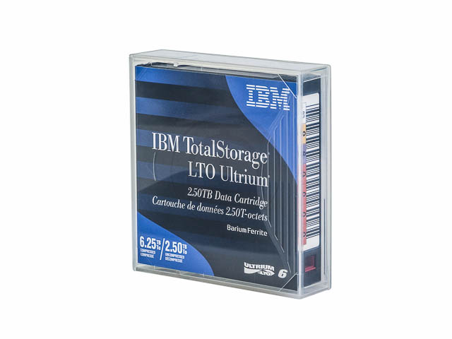 00V7590 IBM DC ULTRIUM6 LTO6 without label 2,5-6,25TB 846m 1