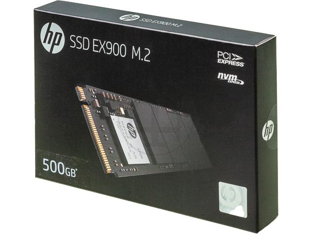 HP SSD EX900 500GB 2YY44AA#ABB intern 1