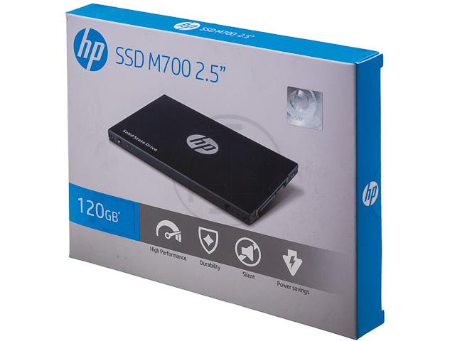 HP SSD M700 DRIVE INTERNAL 120GB 3DV72AA#ABB SATA R: 500MB/s W: 450MB/s 1