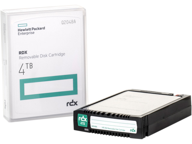 HP RDX REMOVABLE DISK 4TB Q2048A disk backup system 1