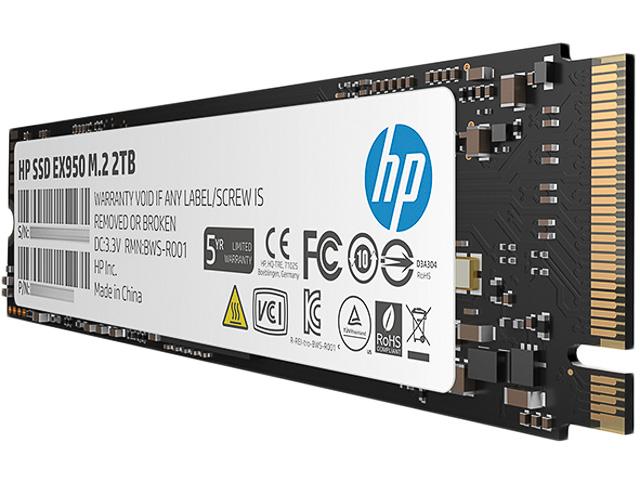 HP SSD EX950 2TB 5MS24AA#ABB intern 1