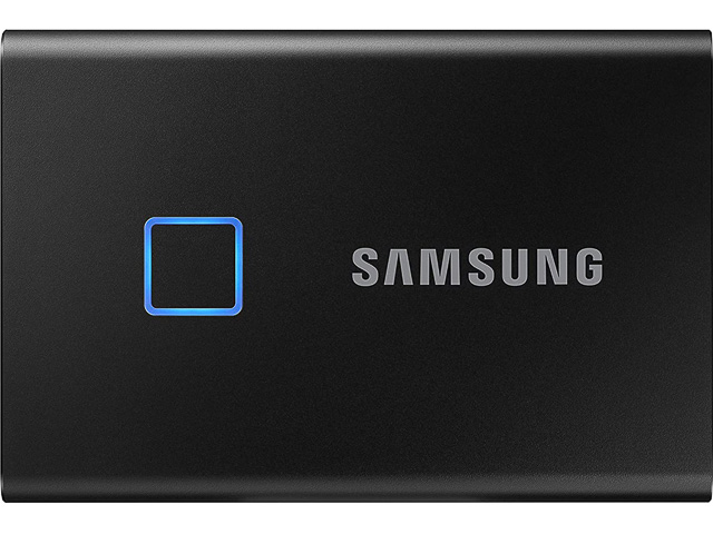 SAMSUNG SSD T7 TOUCH 2TB MU-PC2T0K/WW black USB 3.2 external 1