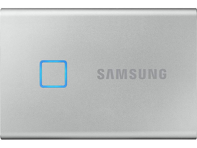 SAMSUNG SSD T7 TOUCH 500GB MU-PC500S/WW silver USB 3.2 external 1