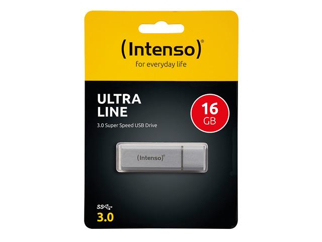 INTENSO ULTRA LINE USB DRIVE 16GB 3531470 35Mb/s USB 3.0 silver 1