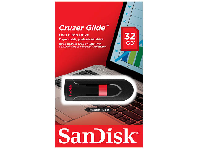 how to use sandisk cruzer glide