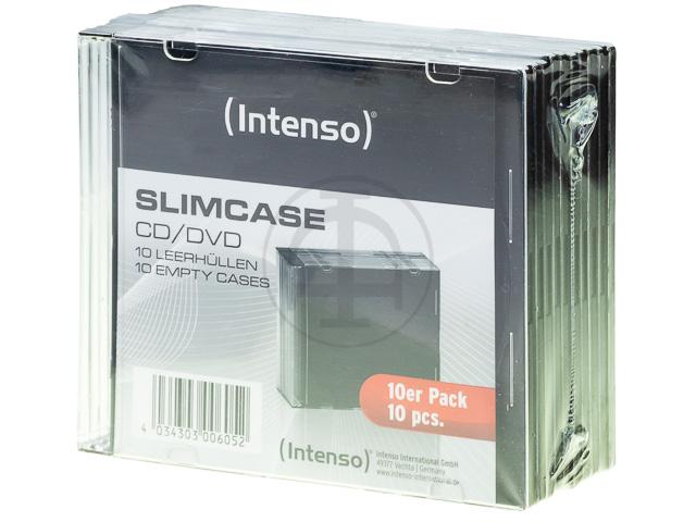 INTENSO SLIM CASE EMPTY CASES (10) 9001602 transparent 1