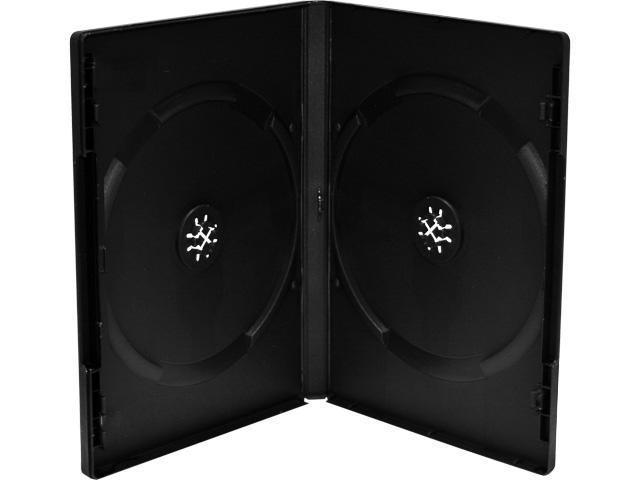 MEDIARANGE DVD CASE FOR 2PCS (50) BOX12 black 14mm 1