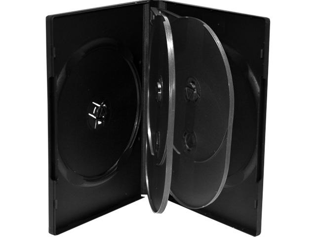MEDIARANGE DVD CASE 6DISC (50) BOX16 empty cases black 1