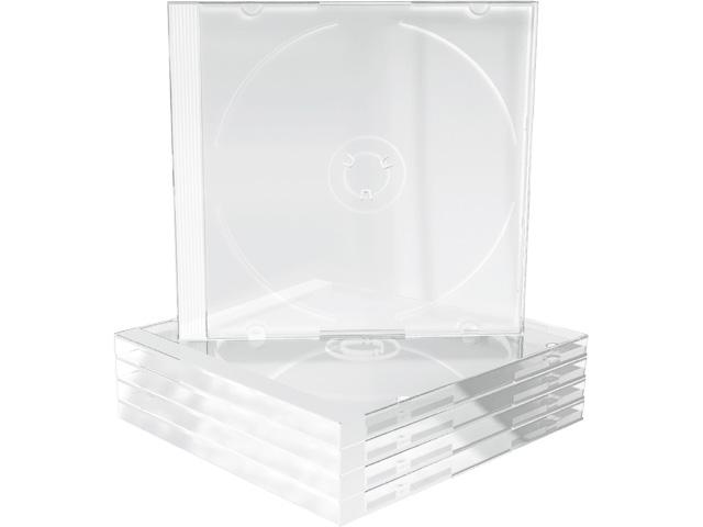 MEDIARANGE CD JEWEL CASE 1DISK (100) BOX24 Leerhuellen transparent 1