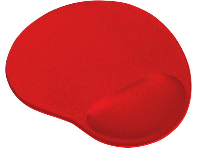 TRUST BIGFOOT MOUSE PAD GEL 20429 red 1