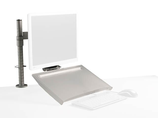 BNECDOC440 BAKKER DOKUMENTENHALTER CleanDoc 440 transparent 1