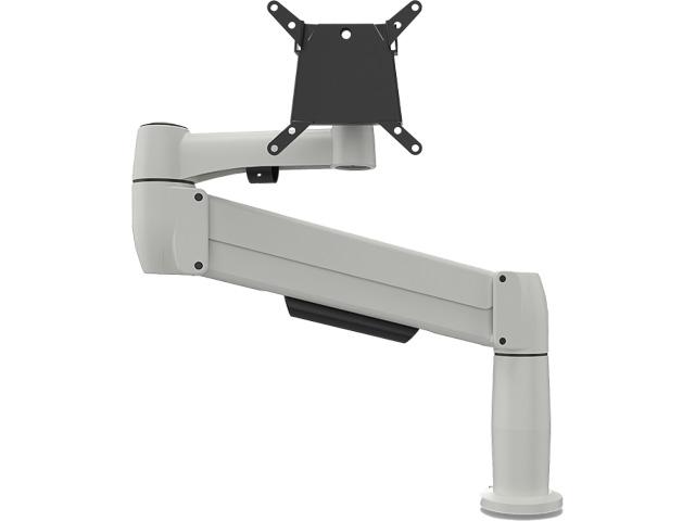 BNESPCW BAKKER SPACE ARM CLAMP 3-8KG for flatscreen white 1