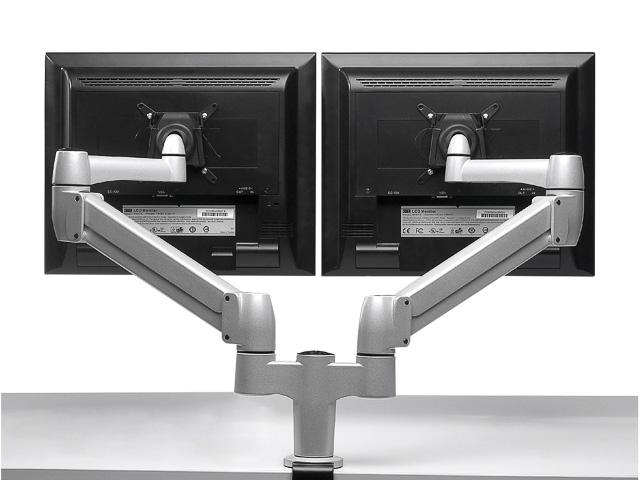 BNESPD BAKKER SPACE ARM CLAMP DUAL 3-8KG for flatscreen 1