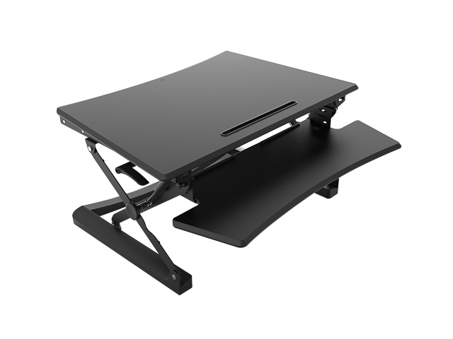 BNEASSDR SIT STAND DESK RISER adjusting range 150-500mm black 1