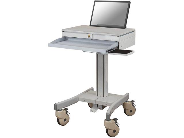"""THE NEWSTAR MEDICAL LAPTOP CART GREY MED-M100 10-18"""" 5kg 1"""