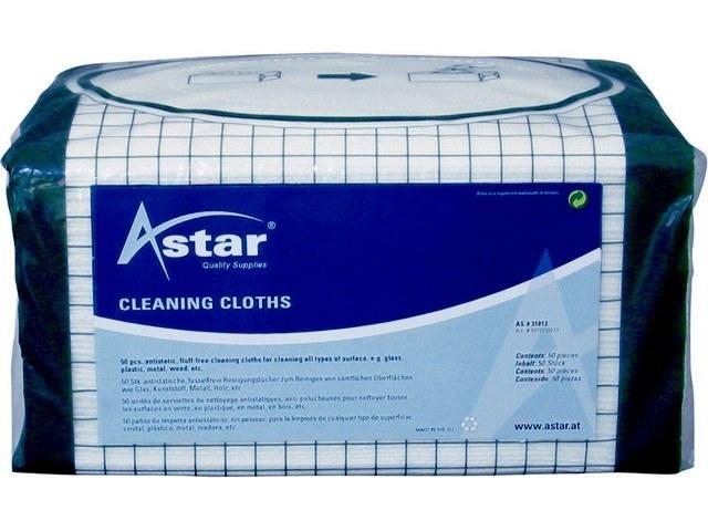 AS31013 ASTAR CLEAN WIPES(25) 32x34cm universal 1