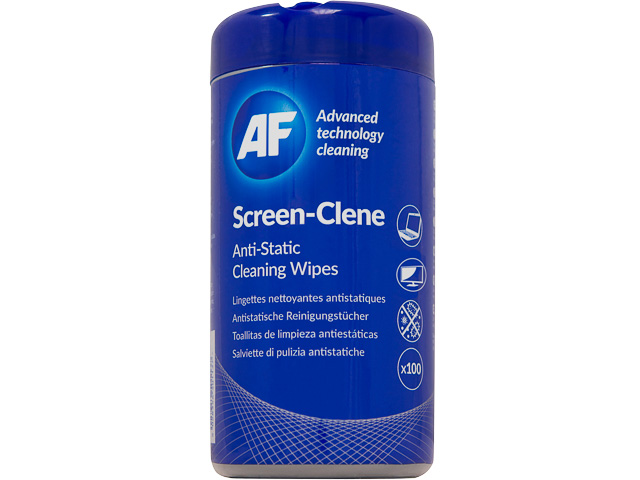 ASCR100T AF SCREEN-CLENE (100) dispenser box wipes 1