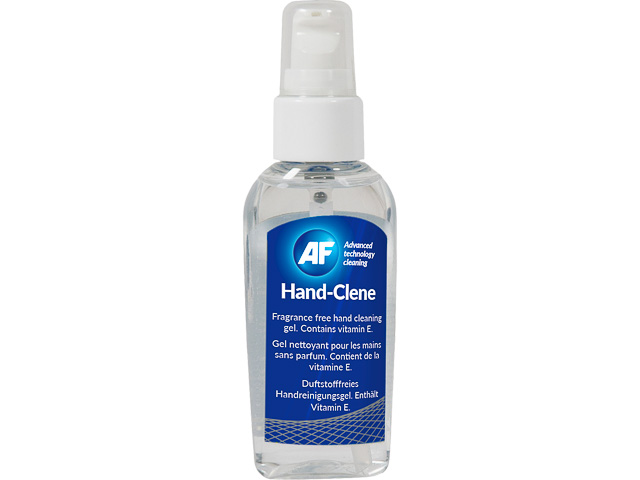 AHSG050 AF HANDCLENE HAND CLEANING GEL 50ml pump bottle odorless flammable 1
