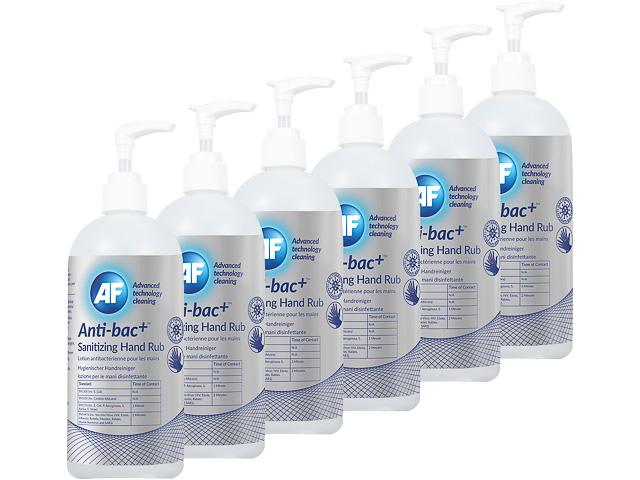 ABHHR500 AF ANTI-BAC+ HANDREINIGER (6) 6x500ml Pumpflasche 1