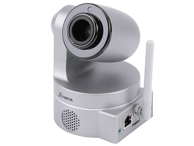 OLYMPIA IP CAMERA IC1285Z 5965 with integrated LAN/WLAN unit 1