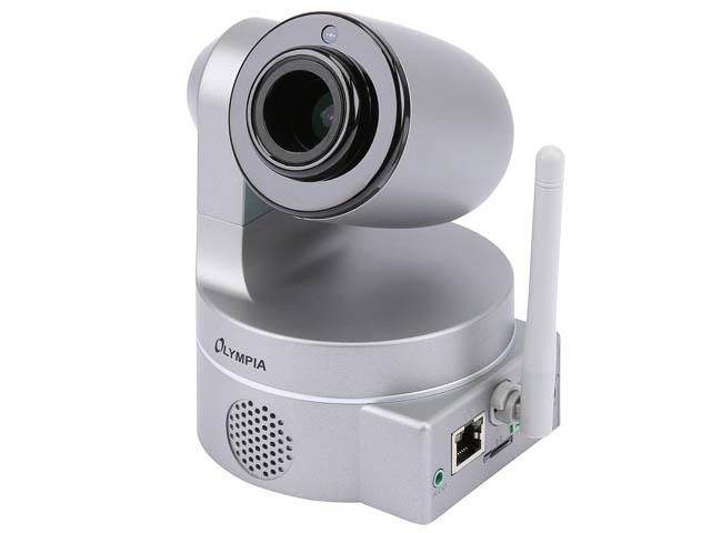 OLYMPIA IP KAMERA IC1285Z 5965 mit integrierter LAN/WLAN-Einheit 1