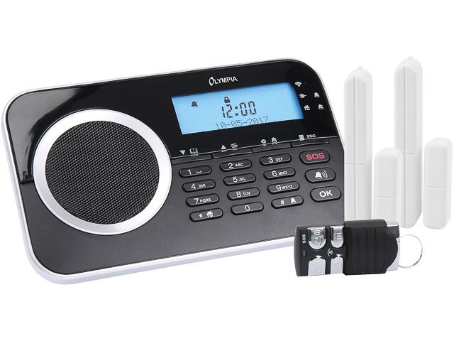OLYMPIA PROTECT 9730 GSM ALARMANLAGE 6018 schwarz 1