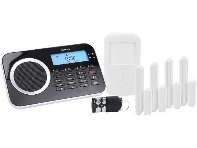 OLYMPIA PROTECT 9761 GSM ALARMANLAGE 6017 schwarz 1