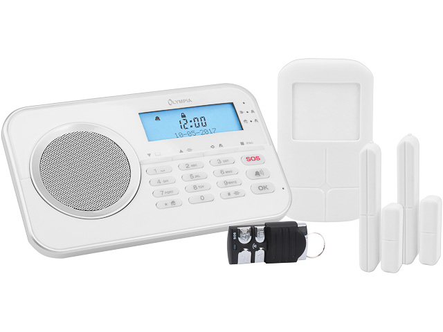 OLYMPIA PROTECT 9868 GSM ALARMANLAGE 6002 weiss 1