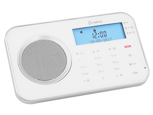 OLYMPIA PROHOME 8700 ALARMANLAGE 6005 WLAN/GSM weiss 1