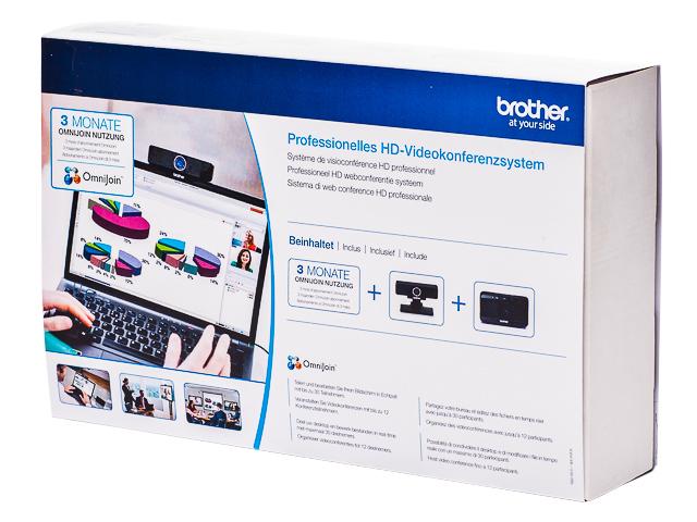 BROTHER OMNIJOIN BUNDLE B0JS03UF02 webcam+speakerphone 1
