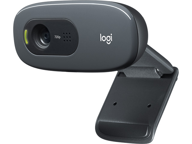 C270 LOGITECH HD WEBCAM 960-001063 720p/USB/microphone 1