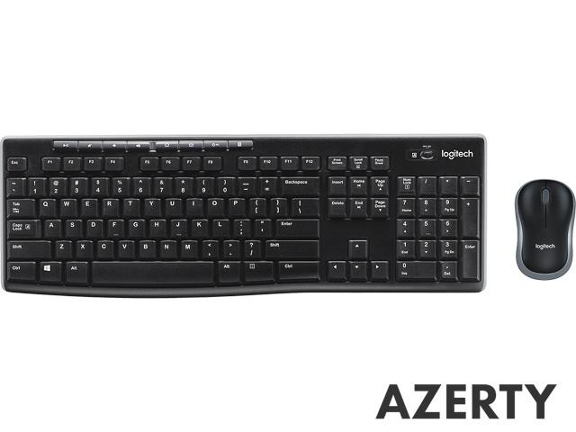 MK270 LOGITECH COMBO FR AZERTY 920-004510 keyboard+mouse wireless 1