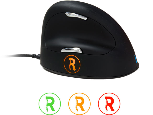 R-GO BREAK HE VERTICAL MOUSE S/M RIGHT RGOBRHESMR USB2.0/4buttons/scrolll wheel 1